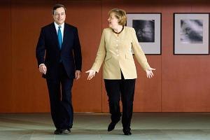 "Angela Merkel: ""I usually do whatever it takes to avoid Karlsruhe rulings."""
